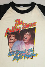M * NOS vtg 80s 1983 THE ROLLING STONES let's spend the night together t shirt