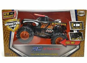 New Bright 1:15 Scale Monster Jam #1530 R/C Truck Soft ...