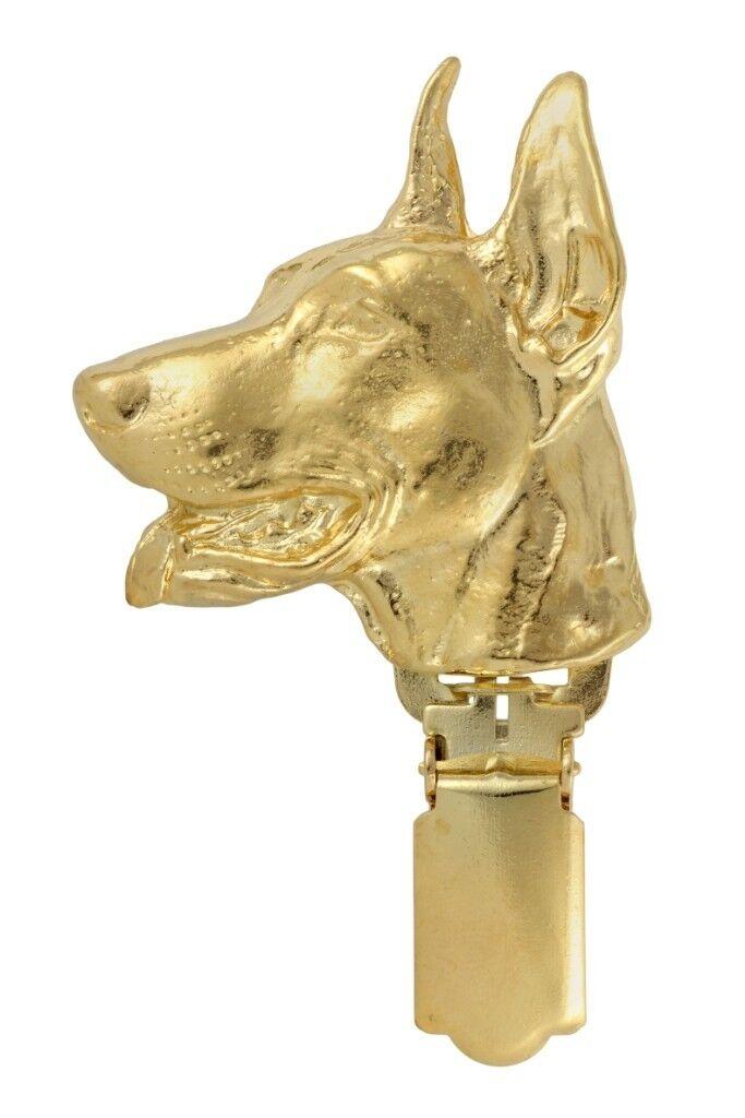 Doberman  Clips couverde doré, qualité supérieure Art Dog FR FR FR 1b0591