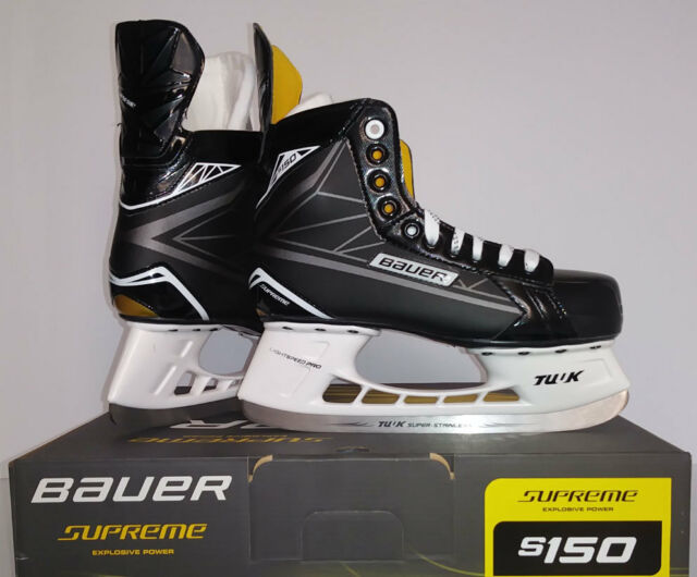 Bauer Supreme S190 Junior Ice Hockey Goal Skates Sz 5 0 EE For