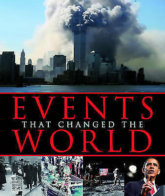 """AS NEW"" Events that Changed the World- Picture This. 300 page Informative Book"