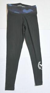 Woman-039-s-VICTORIA-039-S-SECRET-PINK-Blue-Black-Athletic-Pants-Bottoms-Junior-Size-S