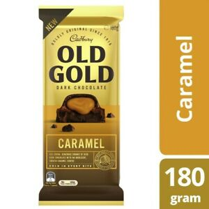 Cadbury Old Gold Block Caramel Chocolate 180g