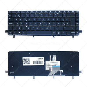 Teclado-Espanol-HP-Spectre-Touchsmart-XT-15-4000-es-Sin-Marco-Retroiluminado