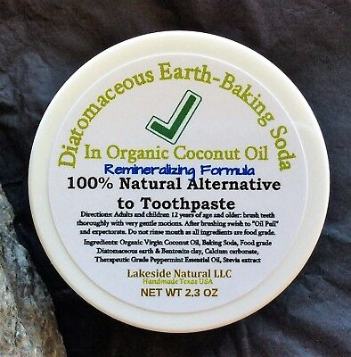 Natural Toothpaste Teeth Whitening Remineralizing Formula In
