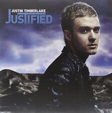 JUSTIN TIMBERLAKE : JUSTIFIED   (Double LP Vinyl) sealed