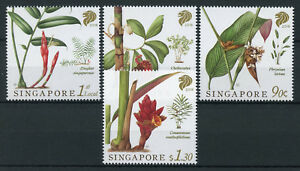 Singapore-2018-MNH-Native-Gingers-4v-Set-Nature-Plants-Flowers-Stamps