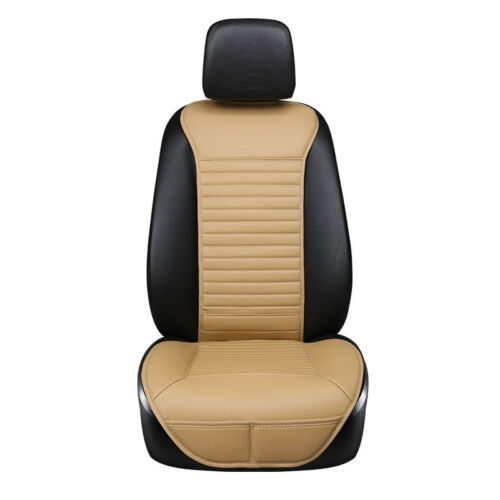 1x 3 Color Bamboo Car Seat Cover Breathable Pad Mat for Auto Chair Cushion