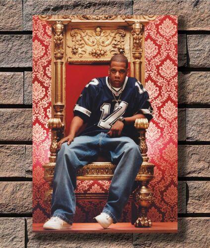 Jay-Z Nice Rap Hip Hop Music Star T-1201 Art Poster 24x36 27x40