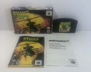 Nuclear Strike 64 Complete In Box (Tested) Original Nintendo N64 Authentic