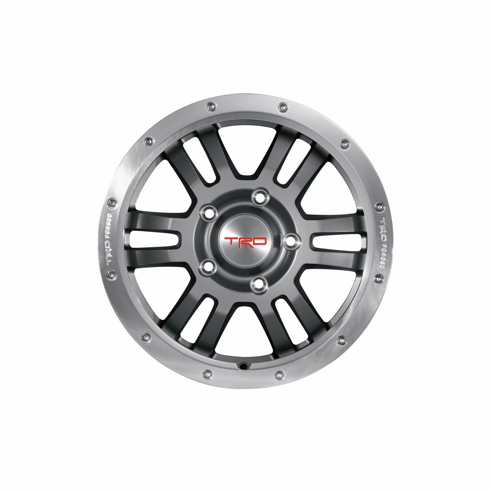 1 Toyota Tundra Trd 17 Rock Warrior Wheel Ptr45 34120 Genuine Oem Landcruiser With 22 Inch Custom Rims Ebay