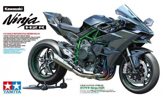 Tamiya 14131 - 1/12 Kawasaki Ninja H2R - Nuovo