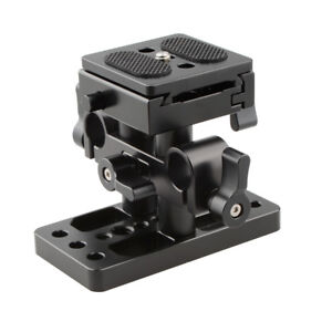 CAMVATE-CAMVATE-Quick-Release-Clamp-Base-for-15mm-Rail-System-Arca-Swiss-Plate