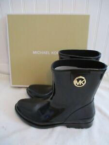 Michael Kors Benji Rain Boots Size 10