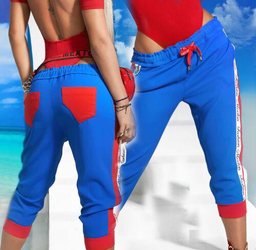 By alina pantalones señora pirata pantalones bermudas shorts trackpants pantalones deportivos Print XS-M