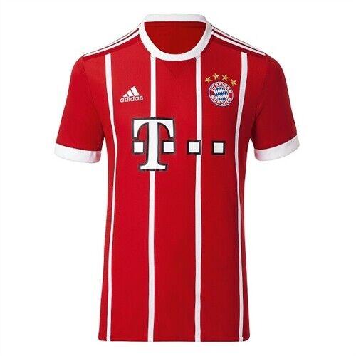 Adidas 1718 FC Bayern Munich Home Jersey AZ7961 Soccer Football Shirts Uniform