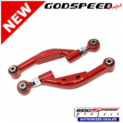 GSP AK-163 Adj Rear Camber Arms with Spherical Bearings For Genesis Coupe 09-16