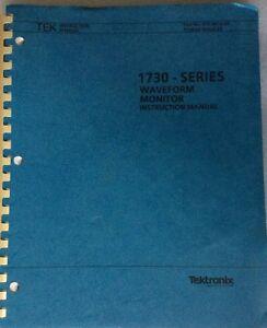 Tektronix-1730-Series-Waveform-Monitor-Manual
