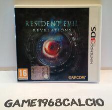 RESIDENT EVIL REVELATIONS - NINTENDO 3DS - USATO PERFETTO PAL ITA