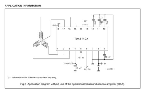 BLDC-driver TDA5140A Philips 4x chipset für Drohne Quadrocopter Modellbau usw