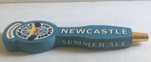 """Newcastle Summer Ale 12/"""" Beer Tap Handle Double Sided"""