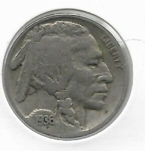 Rare Old Antique 1936 US Buffalo Indian Nickel Collection Great USA Coin LOT:V66