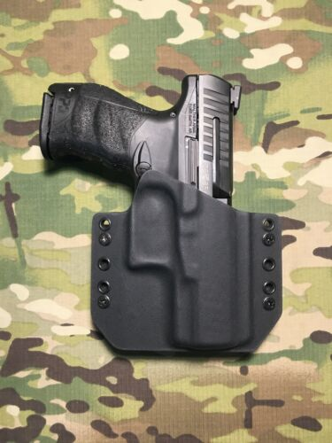 """Black Kydex Walther PPQ M2 4/"""" 9mmHolster"""