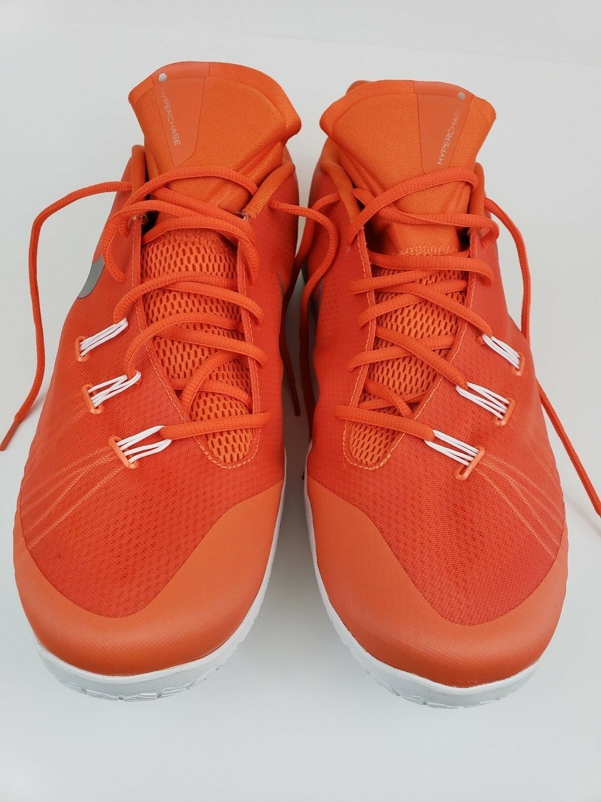 Nike orange Hyperchase orange White Basketball shoes Size