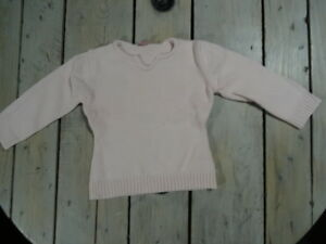 Pull-rose-manches-longues-Taille-4-ans