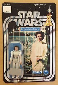 Star Wars 1977 Kenner Unopened Action Figure Princess Leia Organa Recard Mint
