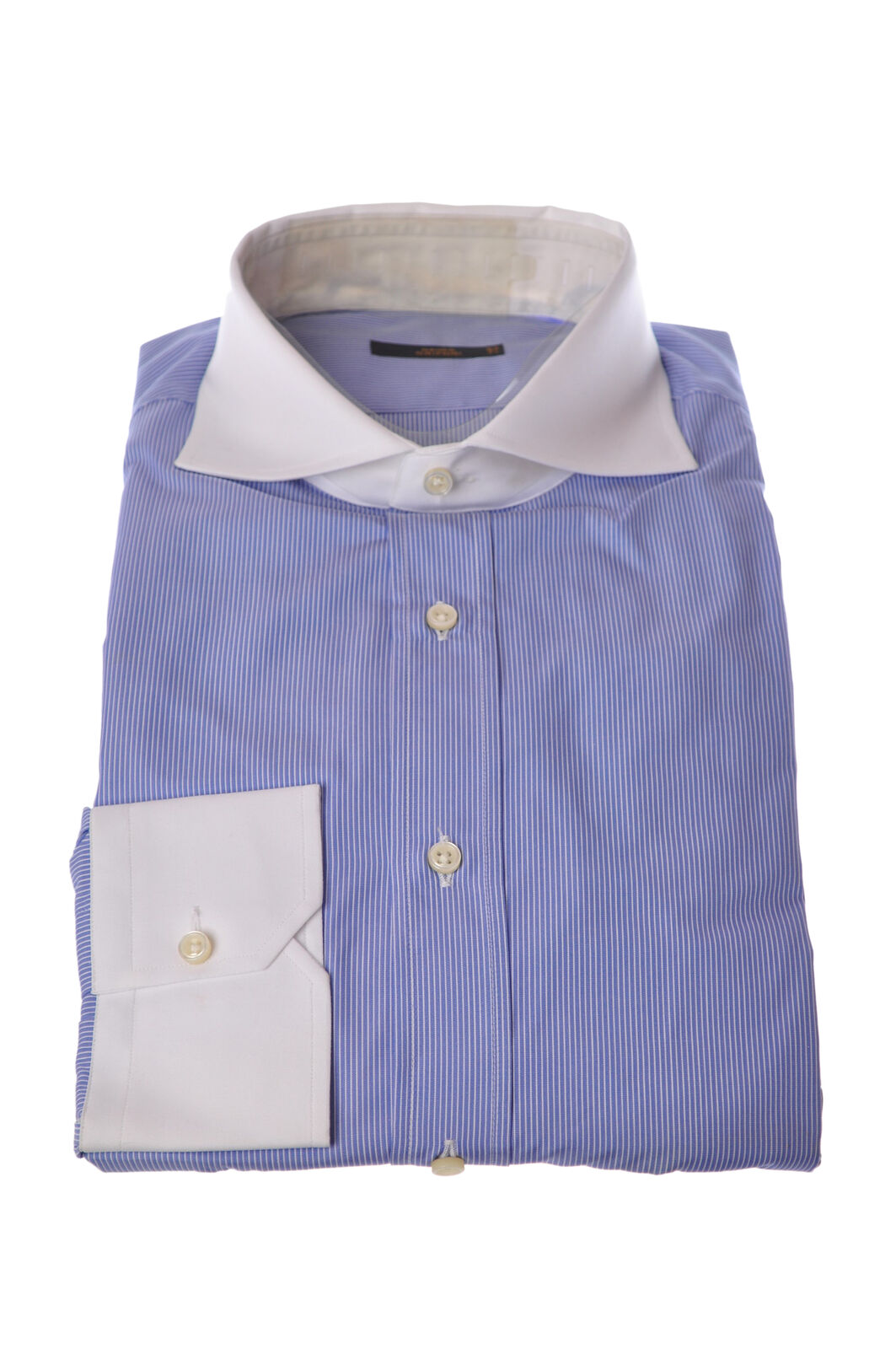 Mauro grifoni  -  Shirt - Male - bluee - 2999704A184300