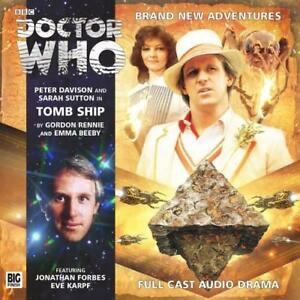Tomb-Ship-Doctor-Who-by-Beeby-Emma-Rennie-Gordon-Audio-CD-Book-97817817