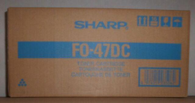 Original Sharp FO-47DC Toner black für AR M300  M300N FO 4700 5700 Karton C