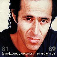 Singulier-Compil-de-Goldman-Jean-Jacques-CD-etat-bon