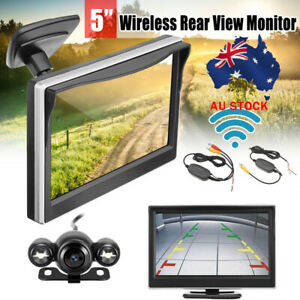5-034-CAR-WIRELESS-PARKING-MONITOR-REVERSING-BACKUP-CAMERA-REAR-VIEW-KIT-AU