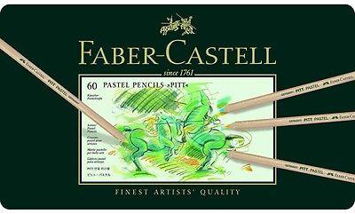 FABER-CASTELL - PITT PASTEL- ARTISTS QUALITY PENCILS - 60 SET