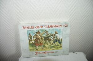MAQUETTE-a-call-to-arms-ARTILLERIE-royalist-1642-HOUSE-of-CAMPAIGN-MODEL-KIT