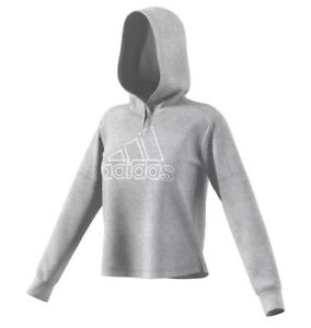 Details about NWT Adidas Women's Team Issue Badge Of Sport Pullover Hoodie DH8153 Size L $55