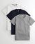NWT-Hollister-Abercrombie-Must-Have-V-Neck-crew-neck-T-Shirt-3-Pack-FOR-HIM-36 thumbnail 9