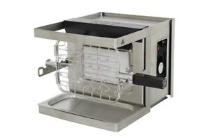Bartscher-Chef-Idee-Gas-Grill-High-Speed-Grill-bis-800-C-3350W-230V