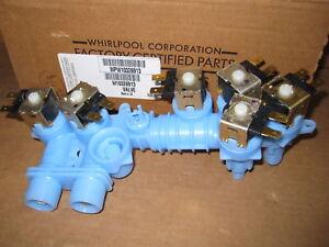 Genuine Whirlpool W10326913 Washer Water Inlet Valve WPW10326913