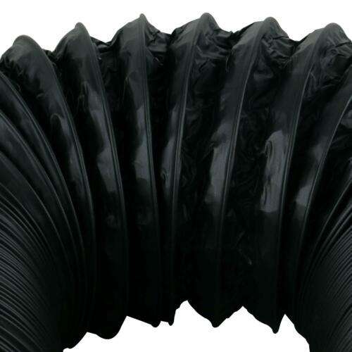 4-6 inch 16FT 32FT Black Flexible Aluminum Air Ducting HVAC Ventilation Air Hose