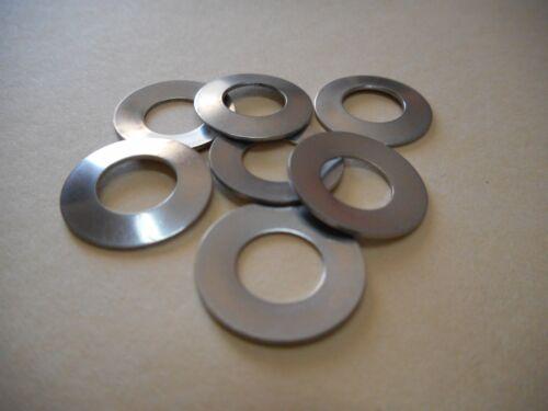 4 Stück Tellerfedern DIN 2093 12,2 mm für M12 verschiedene Größen  EDELSTAHL