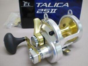 Shimano Talica 25II Saltwater 2 Speed Fishing Reel Lever Drag Model TAC-25II