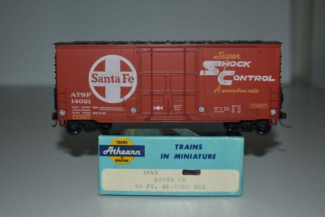 HO Scale Athearn 1965 Santa Fe 40' Single Door Boxcar 14021 C9936