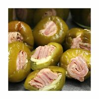 Stuffed Cherry Peppers With Rolled Italian Meats: 8 Oz. Jar (ho... Free Shipping
