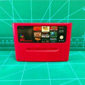 Super 100 In 1 Game Cartridge 16-Bit Multi cart EUR-PAL SNES For Super Nintendo