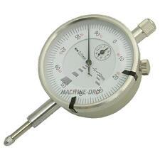 0-10mm Measure Range Metric Dial Plunger Indicator Gauge - Milling, Lathe