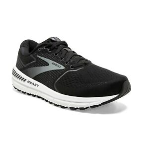BROOKS-BEAST-039-20-Extra-Wide-Scarpe-Running-Uomo-Max-Support-BLACK-110327-4E-051