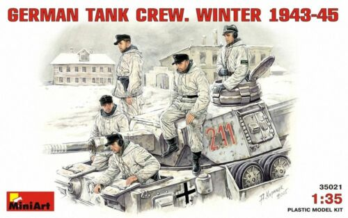 MINIART GERMAN TANK CREW WINTER 1943//45 Scala 1:35 cod.MA35021